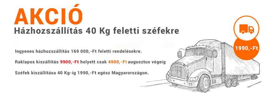 Házhozszállítási AKCIÓ egész Magyarországon